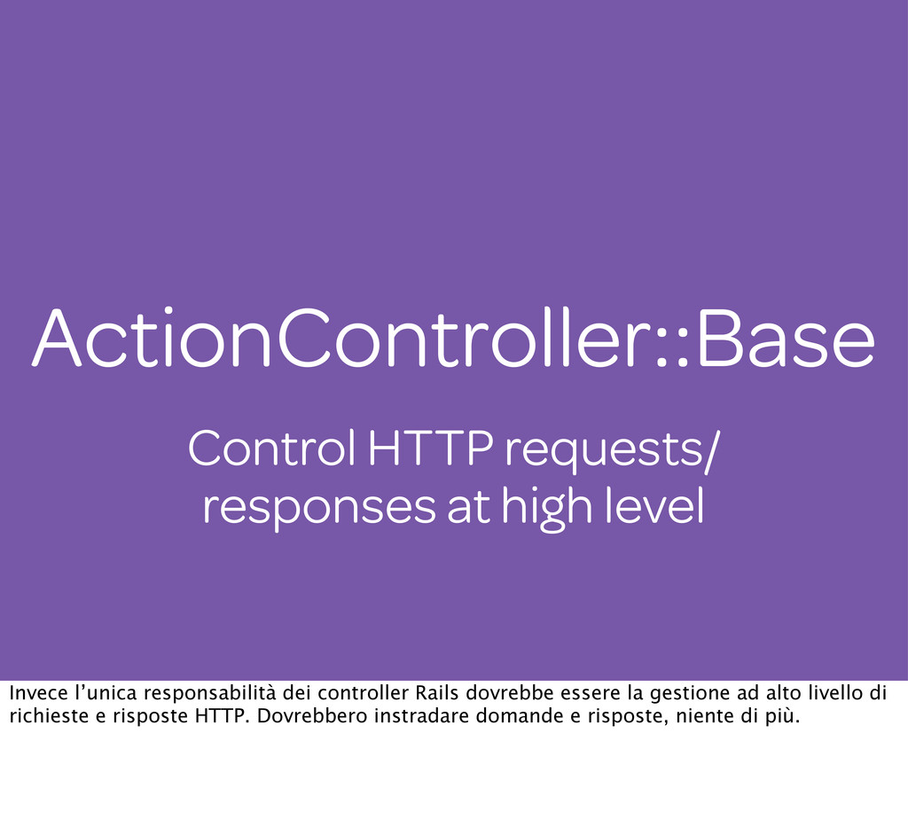 Control HTTP requests/ responses at high level ...