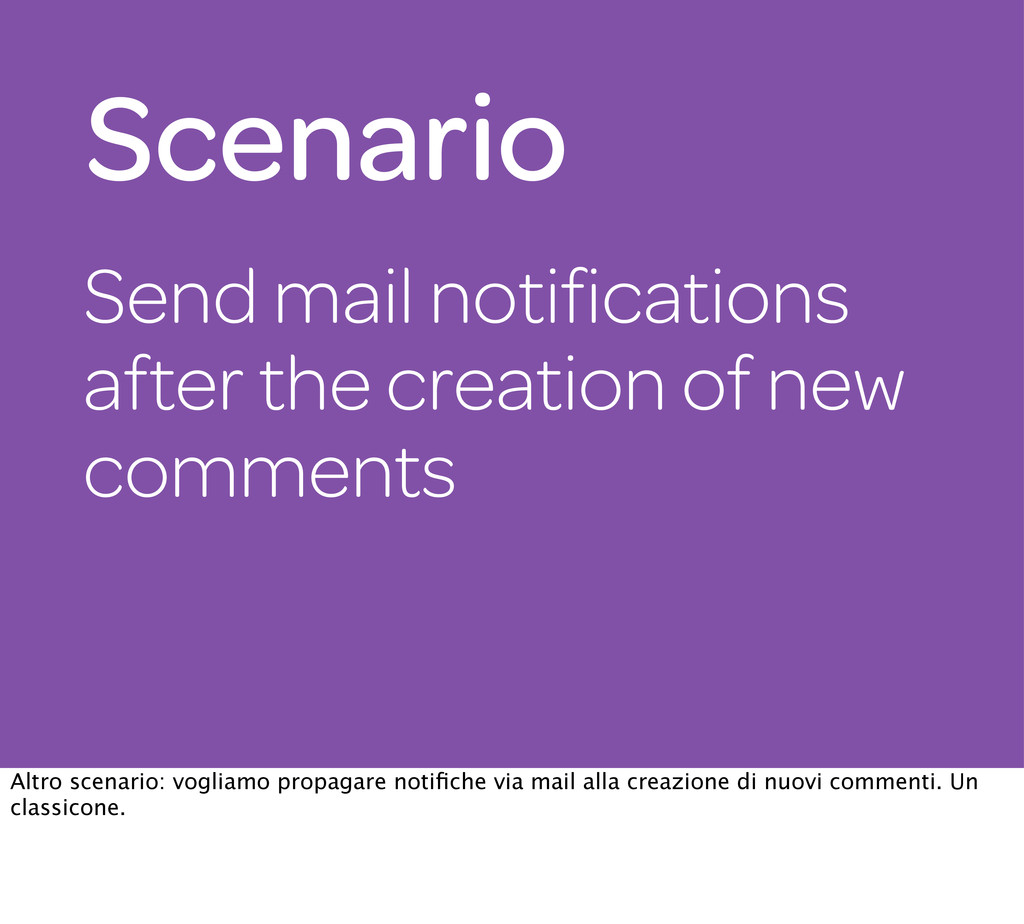 Send mail notifications after the creation of ne...