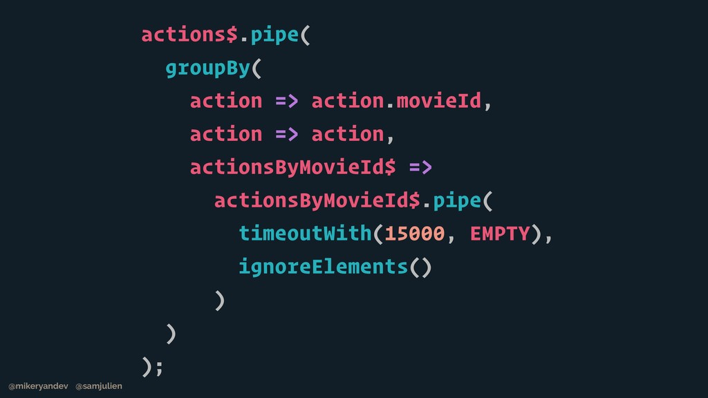 actions$.pipe( groupBy( action => action.movieI...
