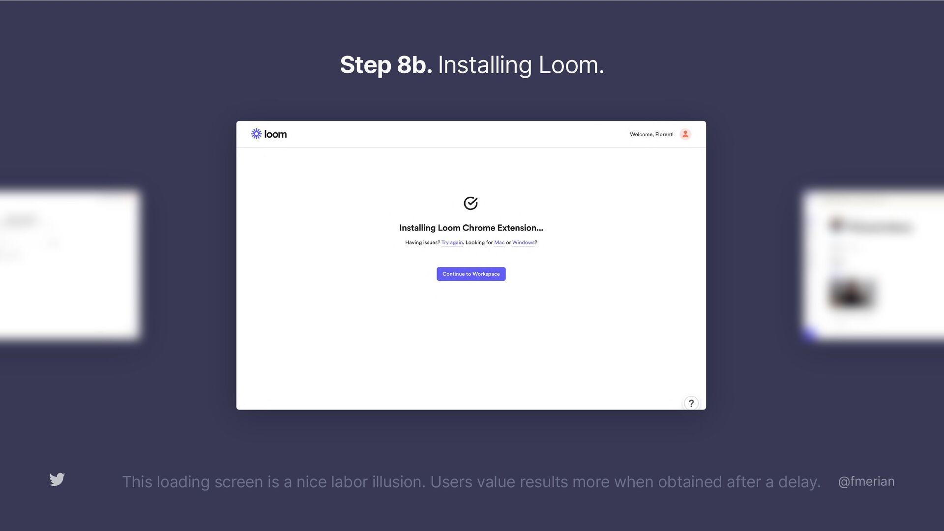 Step 6. Create a Workspace.