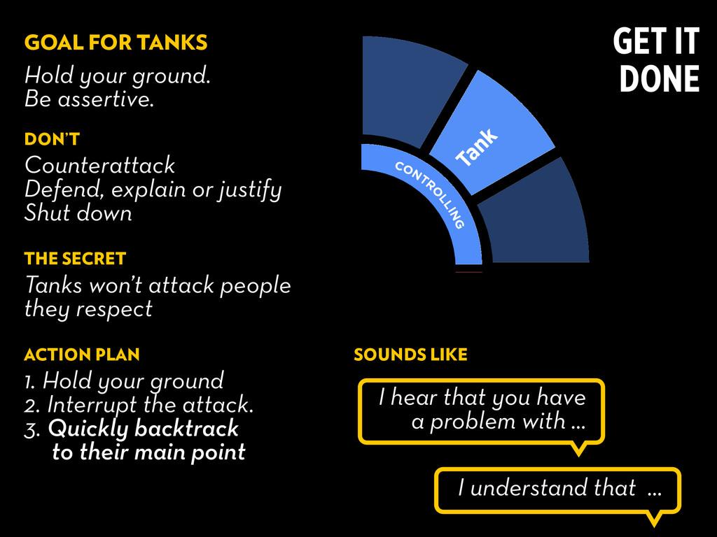 Tank PERFECT IO NIST APPROVA L SEEKING ATTENTIO...