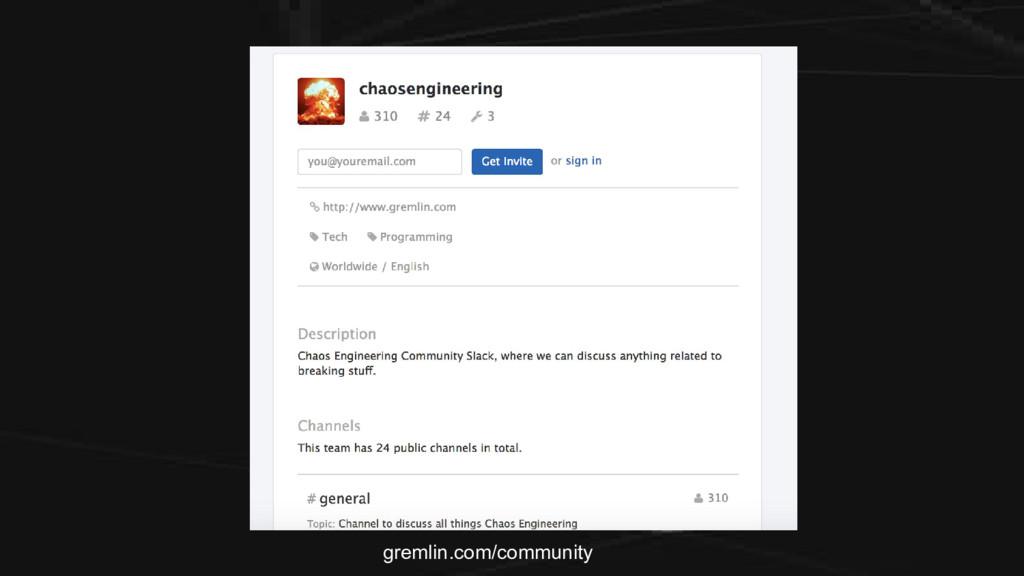 gremlin.com/community
