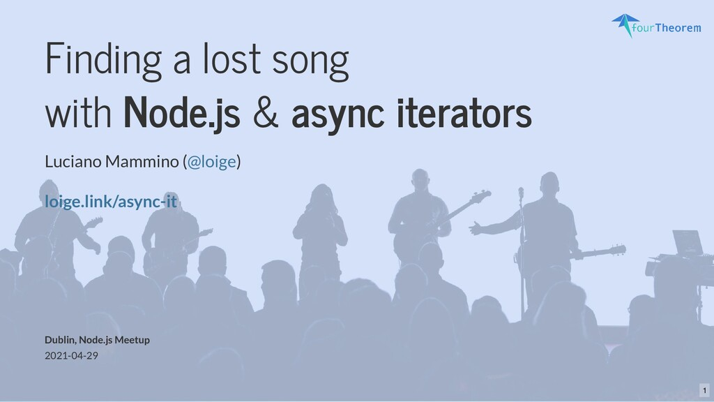 Finding a lost song with Node.js & async iterat...
