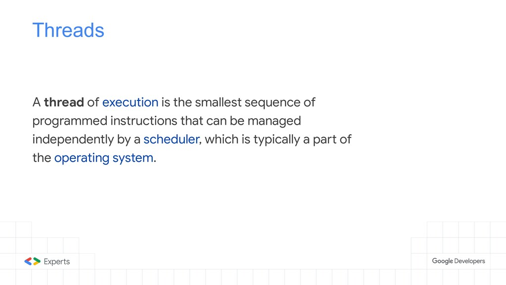 Threads A thread of execution is the smallest s...
