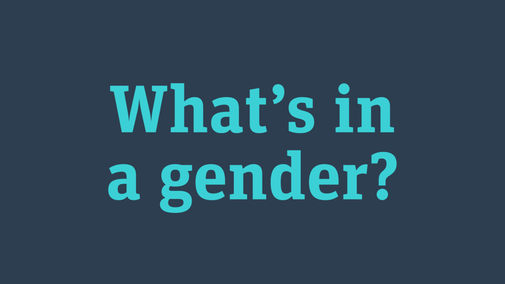 What's in