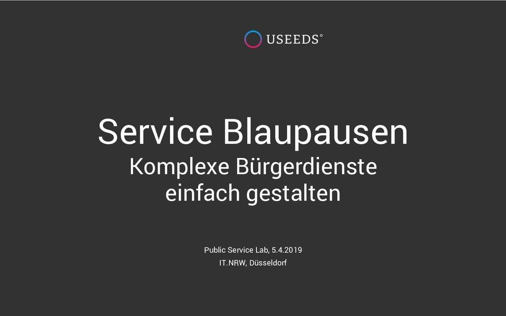 Service Blaupausen Komplexe Bürgerdienste einfa...