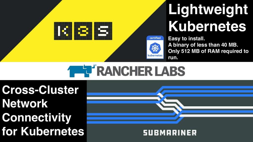 Lightweight Kubernetes Cross-Cluster Network Co...