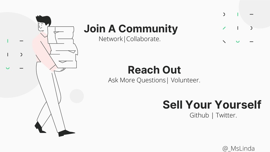 Join A Community Reach Out Sell Your Yourself N...