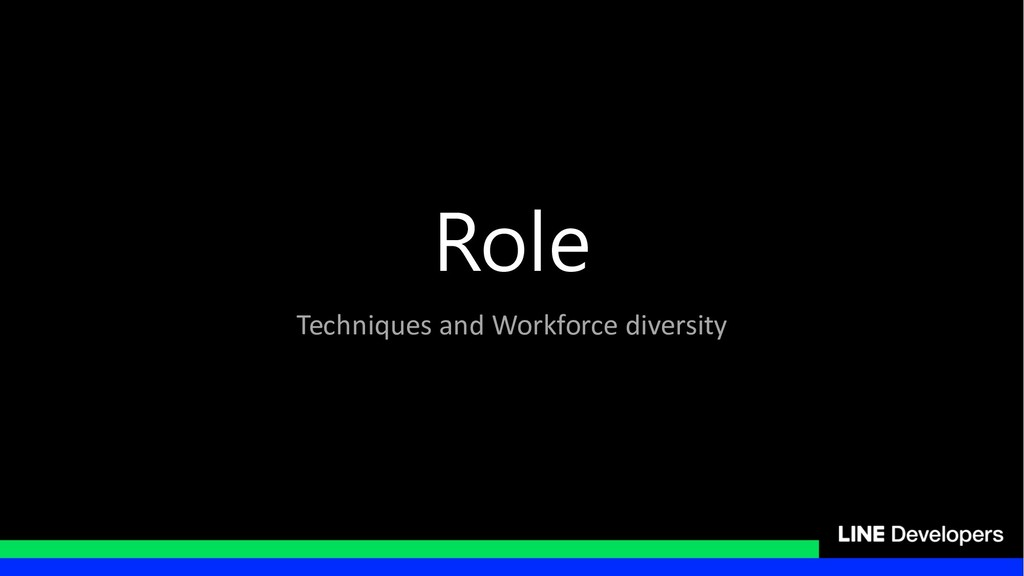 Techniques and Workforce diversity