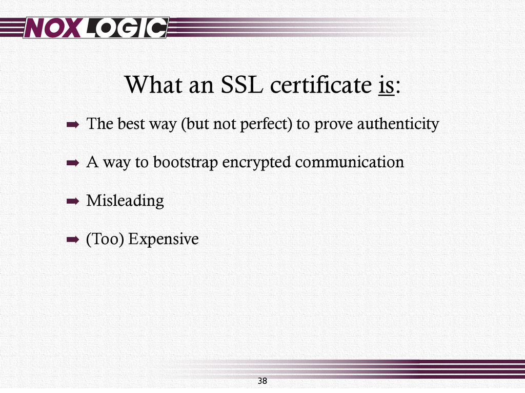 What an SSL certificate is: 38 ➡ The best way (...