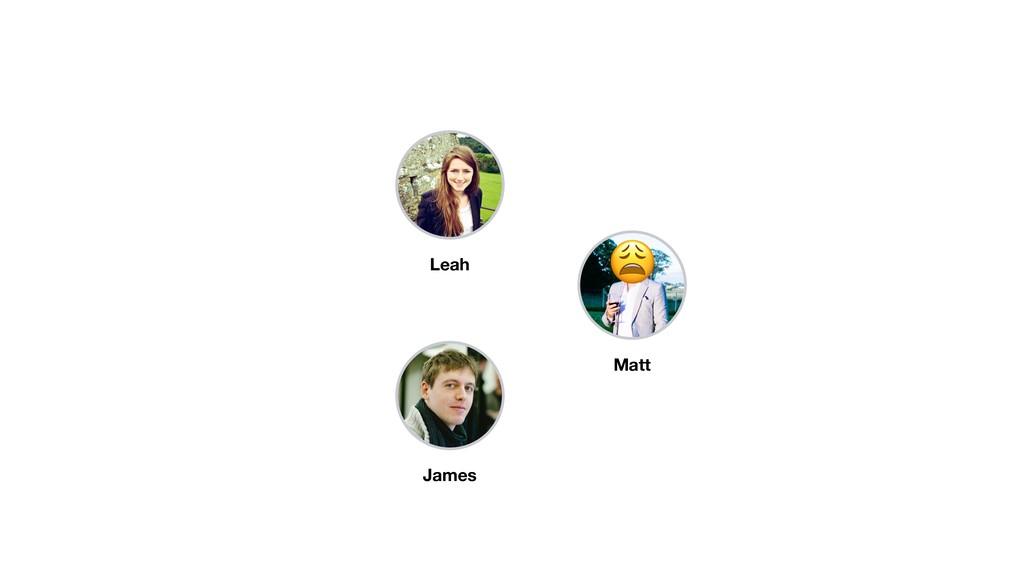 James Leah Matt *
