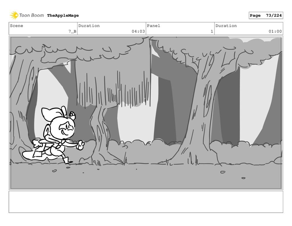 Scene 7_B Duration 04:03 Panel 1 Duration 01:00...