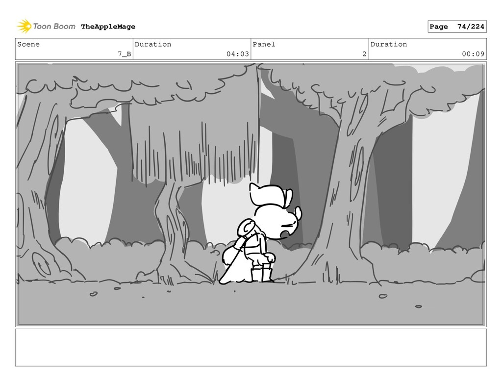 Scene 7_B Duration 04:03 Panel 2 Duration 00:09...