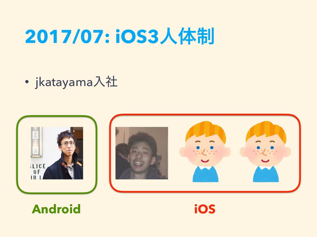 2017/07: iOS3ਓମ੍ • jkatayamaೖࣾ iOS Android