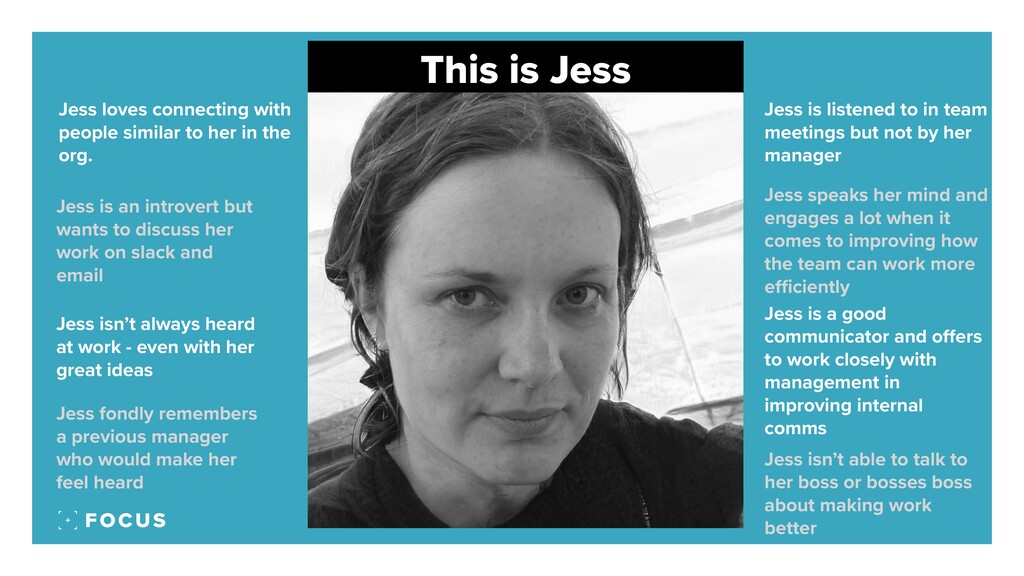 This is Jess Jess loves connecting with people ...