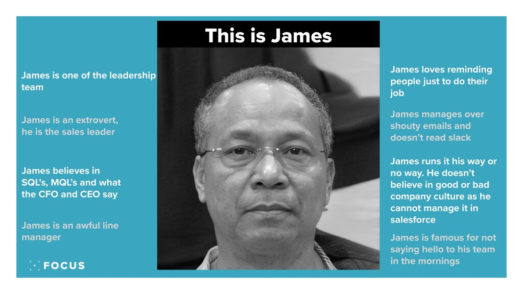 This is James James is one of the leadership te...