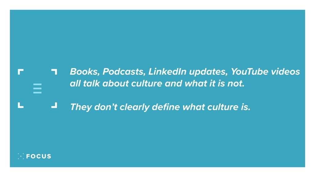 Books, Podcasts, LinkedIn updates, YouTube vide...