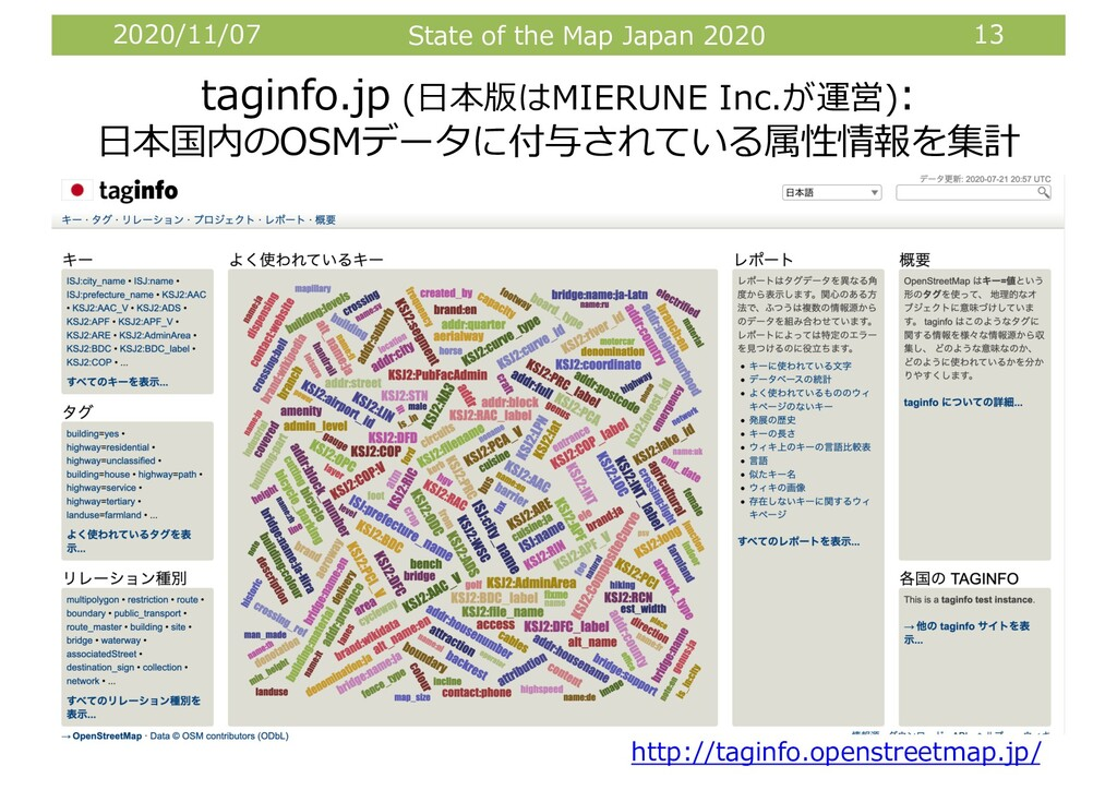 2020/11/07 State of the Map Japan 2020 13 tagin...