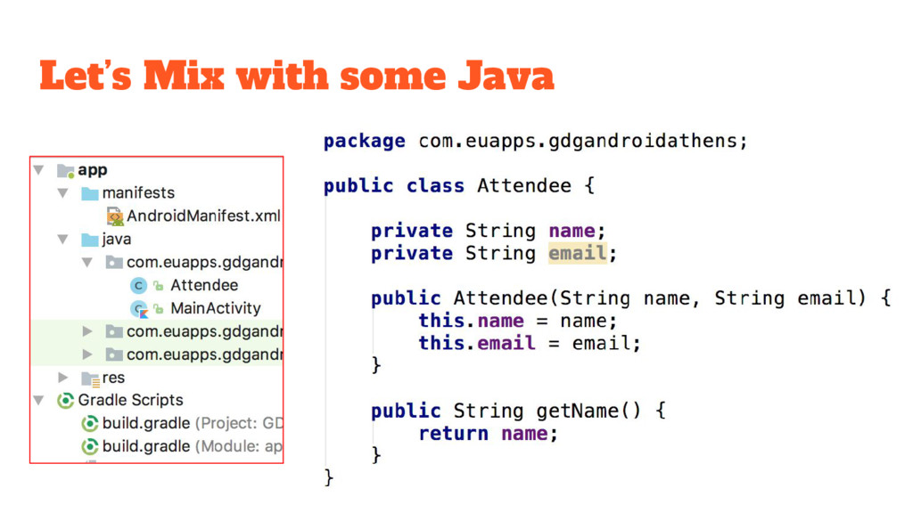 Let's Mix with some Java