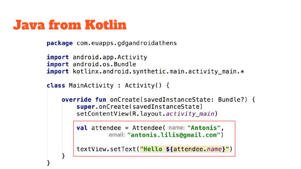 Java from Kotlin