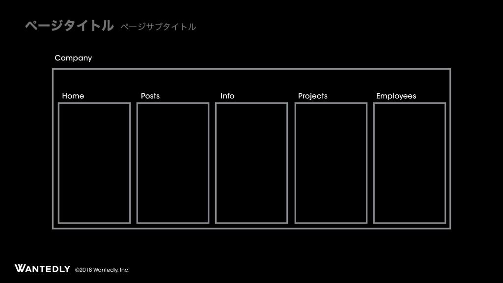 ϖʔδλΠτϧ ϖʔδαϒλΠτϧ ©2018 Wantedly, Inc. Company ...