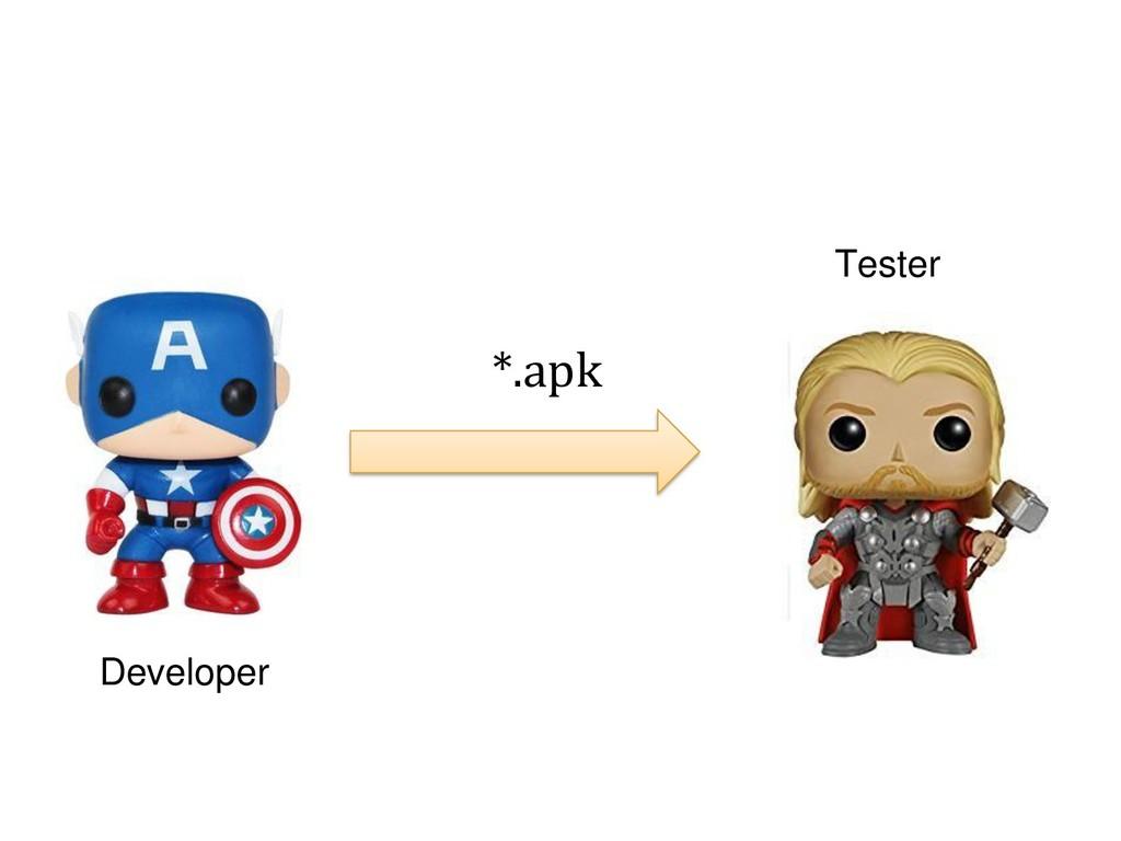 Developer *.apk Tester