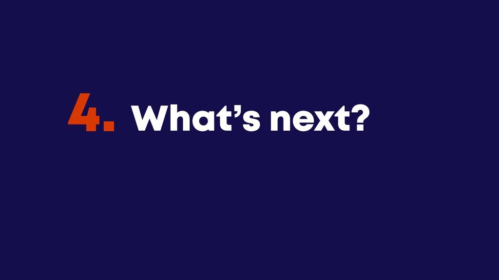 @JGFERREIRO @JGFERREIRO What's next? 4.