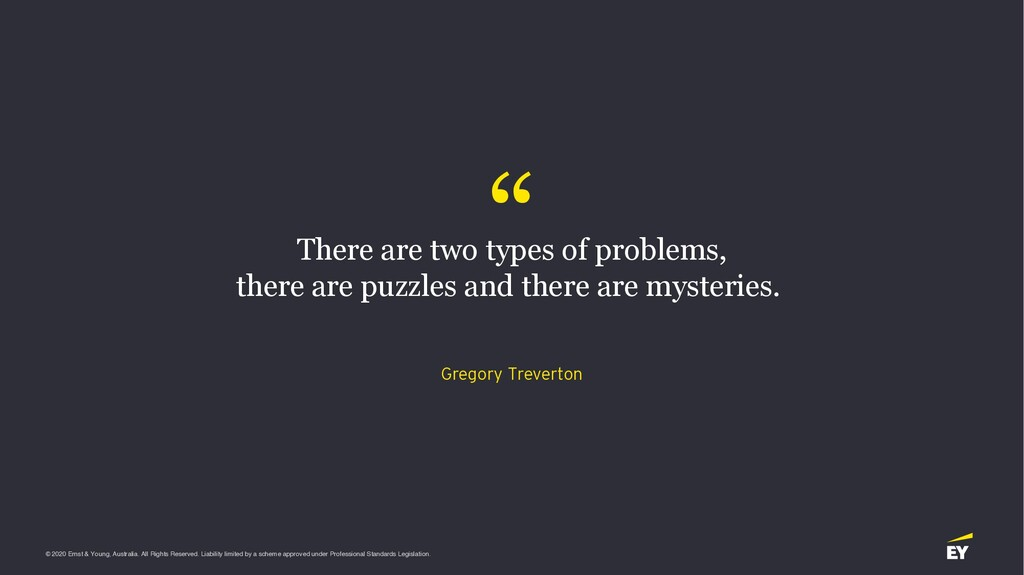 """ There are two types of problems, there are pu..."