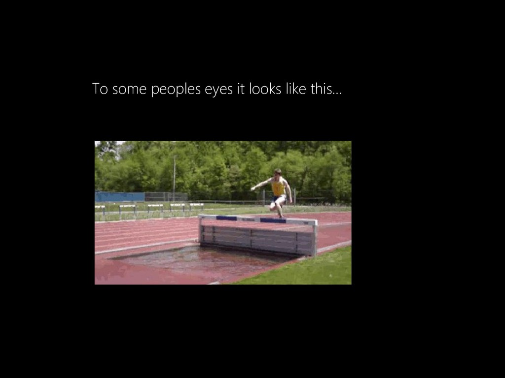 To some peoples eyes it looks like this...