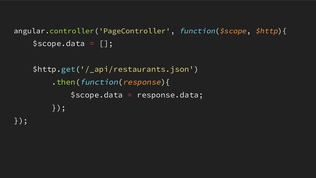 angular.controller('PageController', function($...