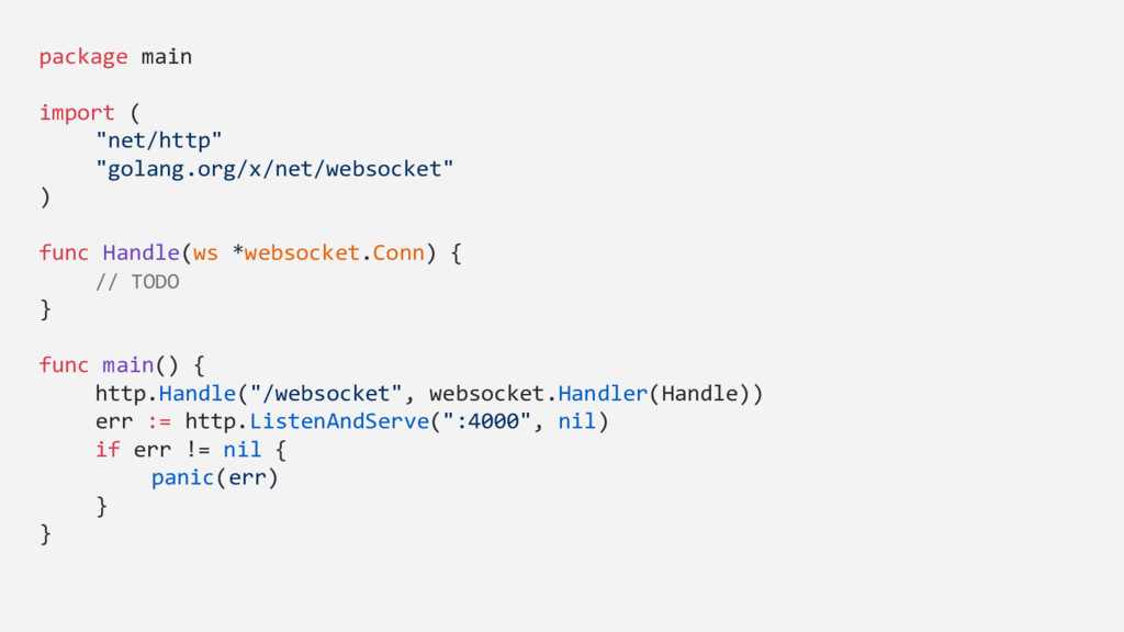 """package main import ( """"net/http"""" """"golang.org/x/..."""