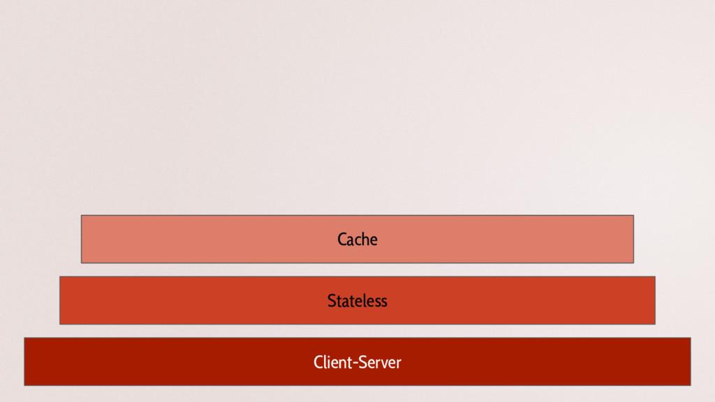 Client-Server Stateless Cache