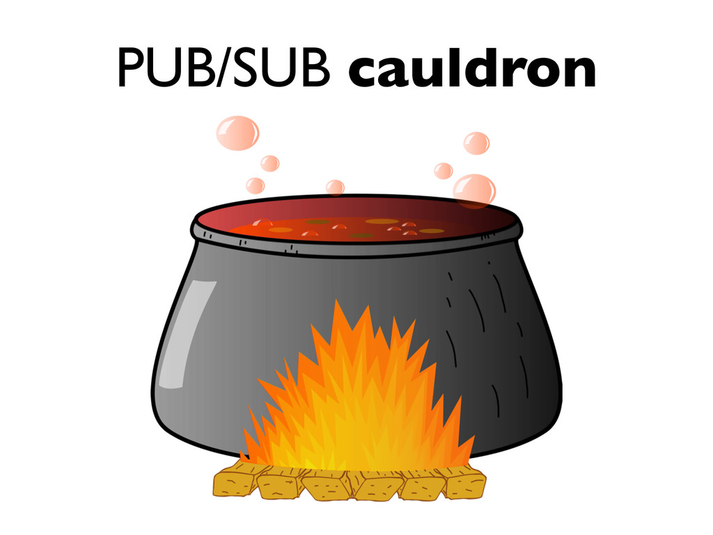 PUB/SUB cauldron