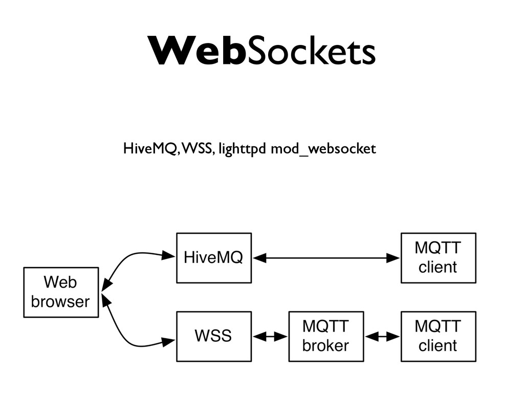 WebSockets HiveMQ, WSS, lighttpd mod_websocket