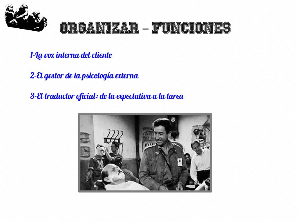 14 Organizar Funciones – 1-La voz interna del c...