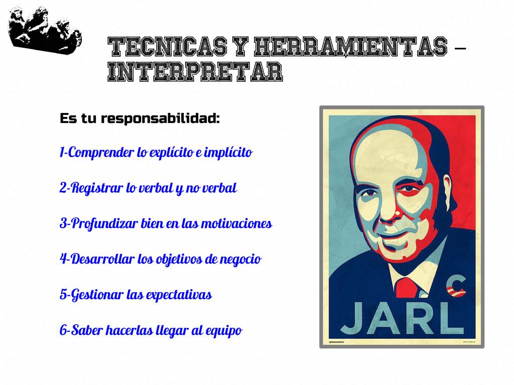 20 Tecnicas y herramientas - Interpretar Es tu ...