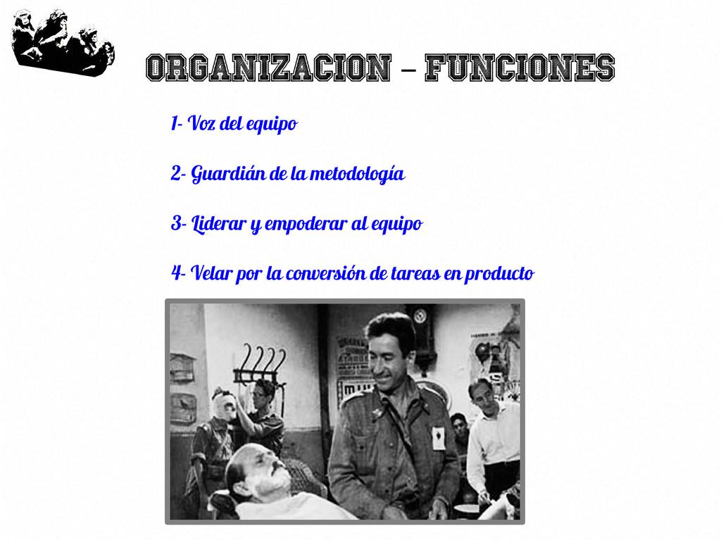 36 Organizacion Funciones – 1- Voz del equipo 2...