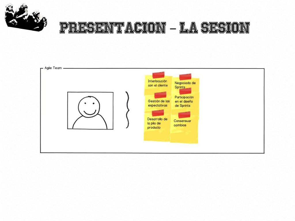 8 Presentacion La sesion –