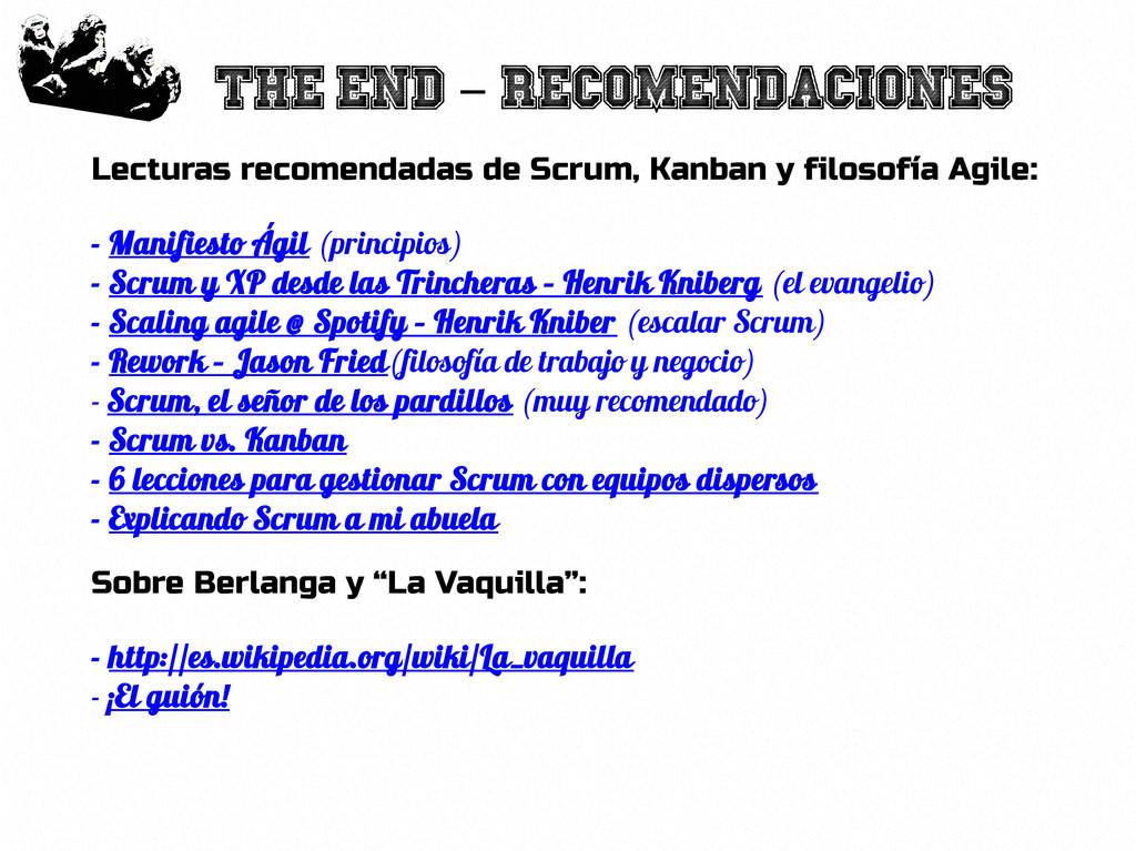 77 The end recomendaciones - Lecturas recomenda...