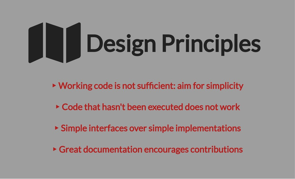‣ Working code is not suf cient: aim for simpli...
