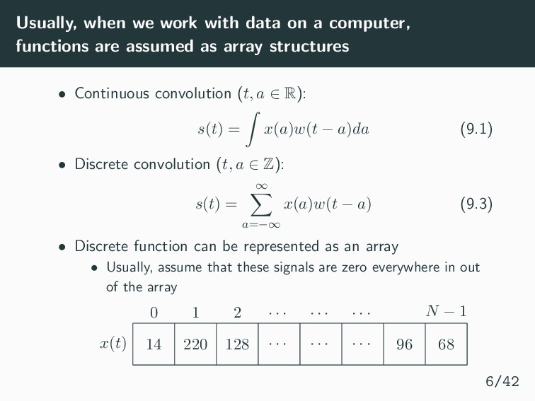 Usually, when we work with data on a computer, ...