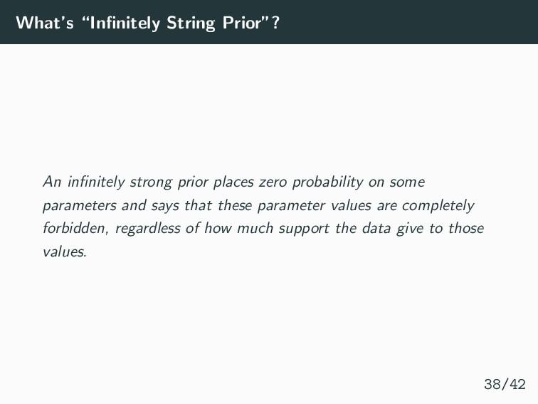 "What's ""Infinitely String Prior""? An infinitely s..."