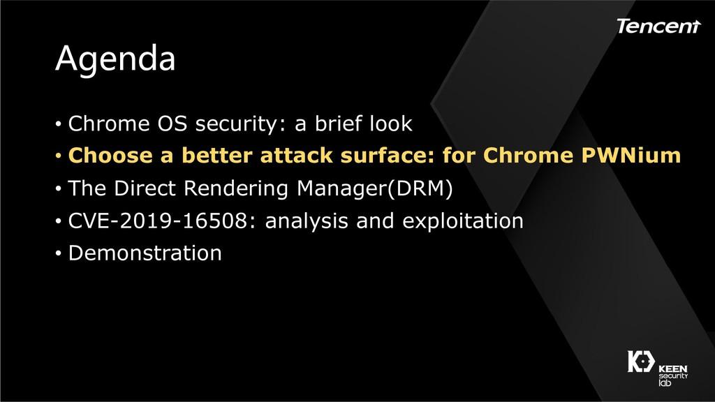 • Chrome OS security: a brief look • Cho...