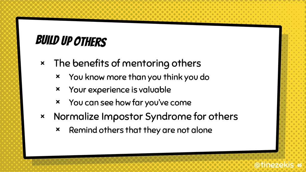 Build Up Others × The benefits of mentoring oth...