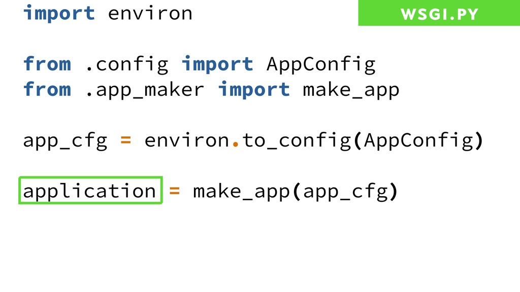 import environ from .config import AppConfig fr...