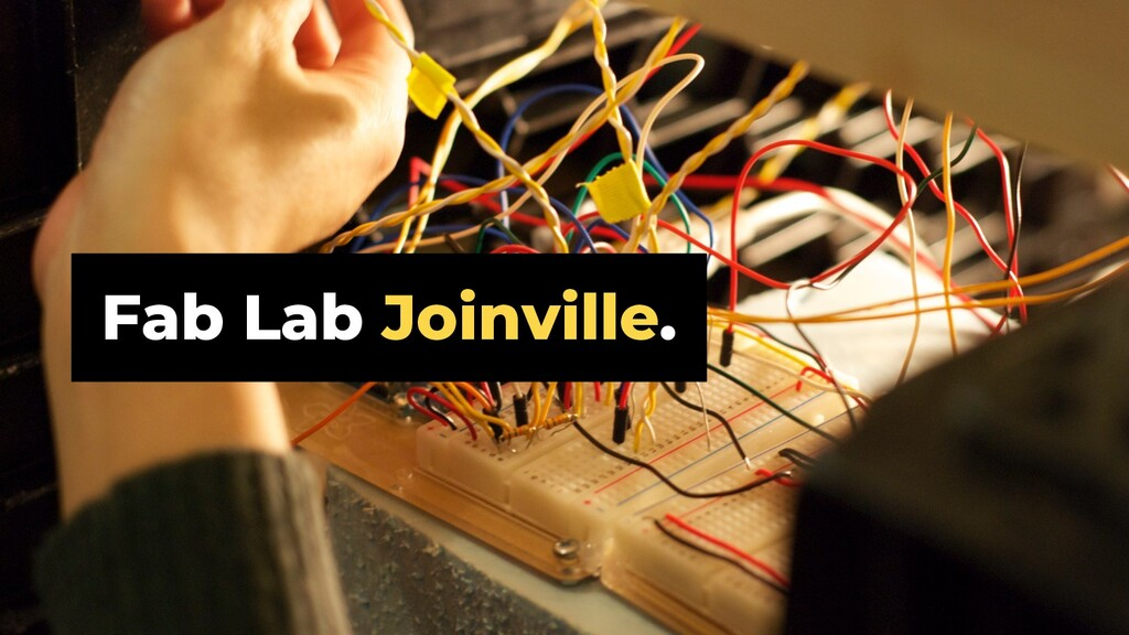 Fab Lab Joinville.