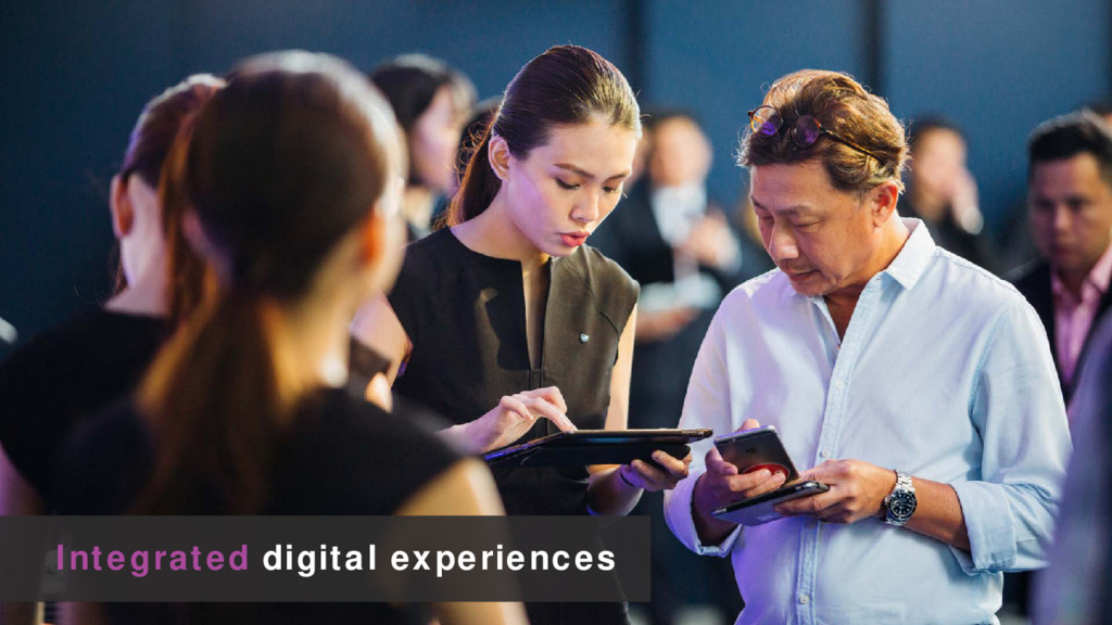 Integrated digital experiences