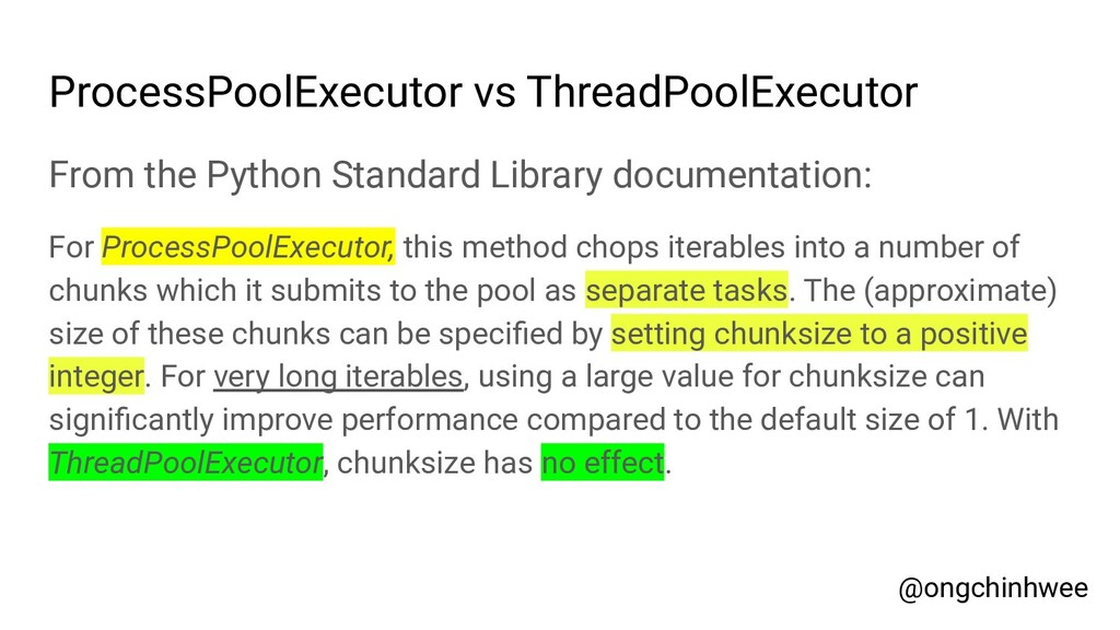 ProcessPoolExecutor vs ThreadPoolExecutor From ...