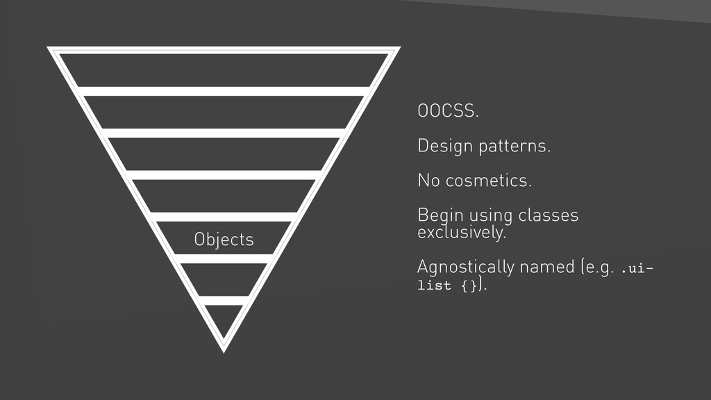 Objects OOCSS. Design patterns. No cosmetics. B...