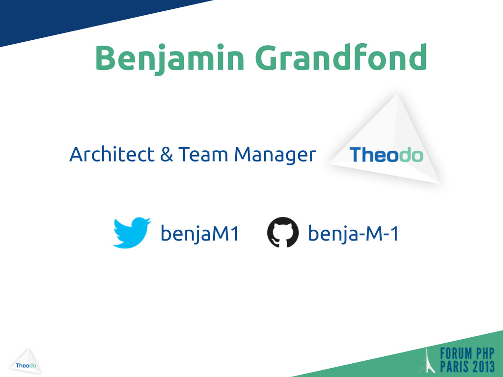 Benjamin Grandfond Architect & Team Manager ben...